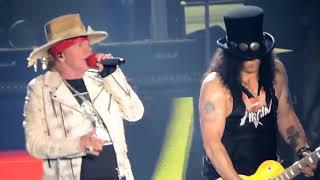 El último concierto de los Guns N Roses Sweet Child O Mine  2017