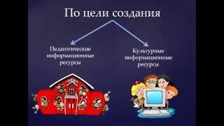 Классификация электронных образовательных ресурсов. Игнатова Мария, НИТ МПГУ 2016