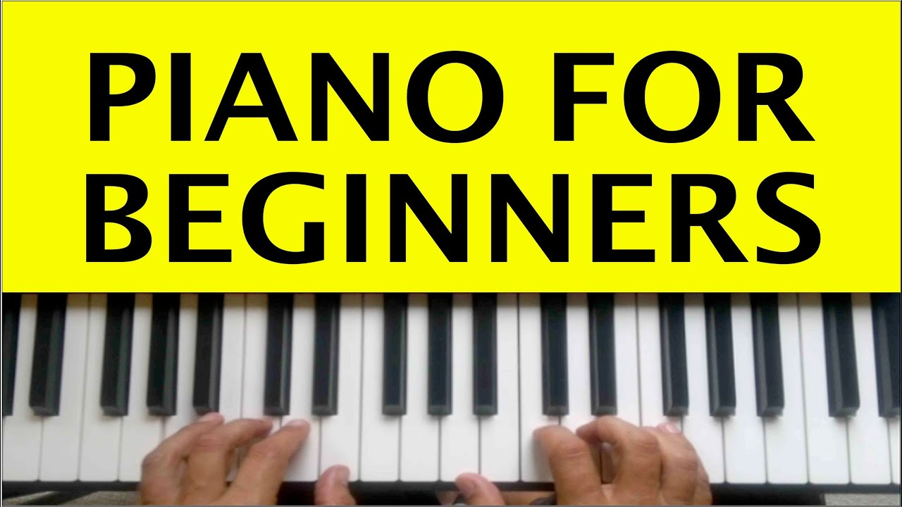 Piano Lessons for Beginners Lesson 1 How to Play Tutorial ...