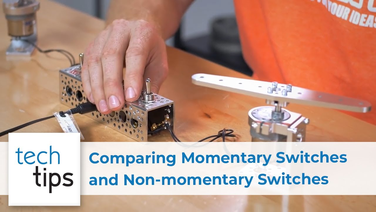 Comparing Momentary Switches & Non-momentary Switches - with Kyle