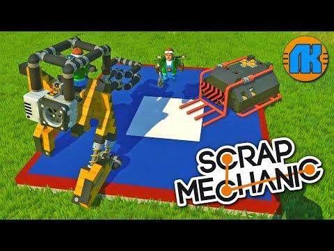 БОИ РОБОТОВ СУМО \ ДЕРБИ НА АРЕНЕ \ GAME Scrap Mechanic \ FREE DOWNLOAD \ СКАЧАТЬ СКРАП МЕХАНИК !!!