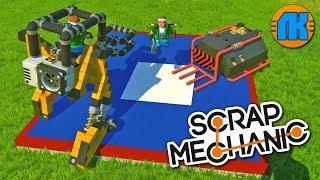 БОИ РОБОТОВ СУМО \ ДЕРБИ НА АРЕНЕ в Scrap Mechanic \ СКРАП МЕХАНИК !!!