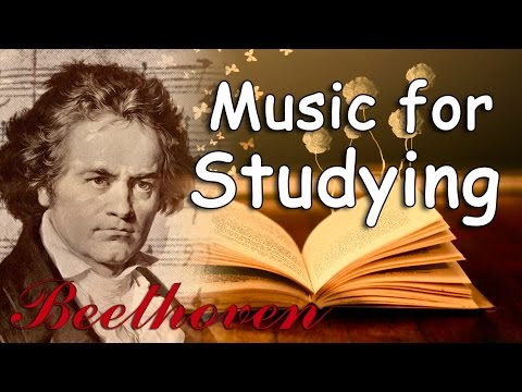 Beethoven for Studying - Relaxing Classical Music for Studying, Focus Concentration, Reading Music poster