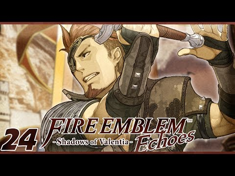 SO MANY WHEELS | Let's Play Fire Emblem Echoes: Shadows of Valentia Part 24 w/ ShadyPenguinn