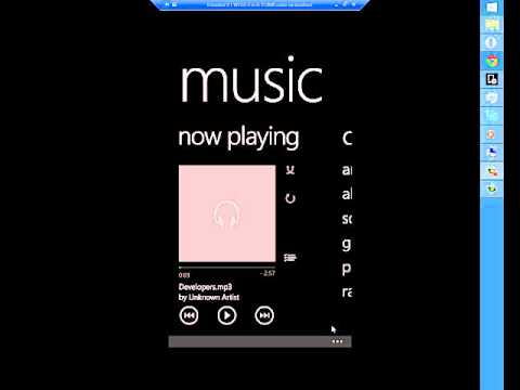 Windows Phone 8.1 - Music app