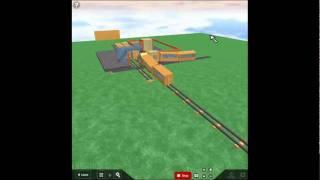 Trains Crashing On ROBLOX