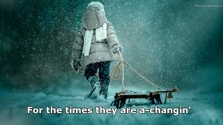 Tracy Chapman - The Times They Are A Changin Lyrics (Bob Dylan)