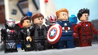 Avengers Endgame Trailer 2 in Lego