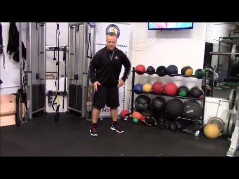 Golf Specific Exercises with Medicine Balls