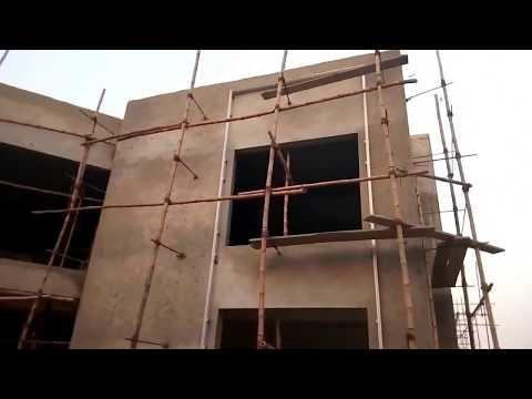 Facade Elevation Work Under progress at Our Project HEJ Research Center Karachi University