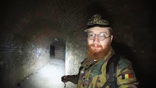 DEAD BODY SCARE While Exploring ABANDONED WW2 BUNKER