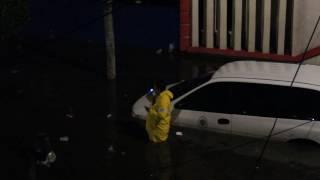 autoridades y vecinos de la vicente guerrero spmz 5 inundacin
