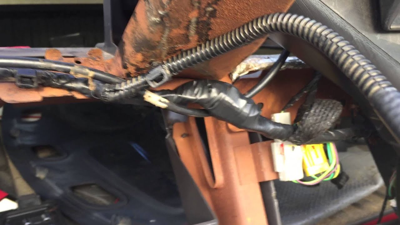 Tip On How To Remove Dash Frame On Dodge Ram 1500, 2500, 3500  YouTube