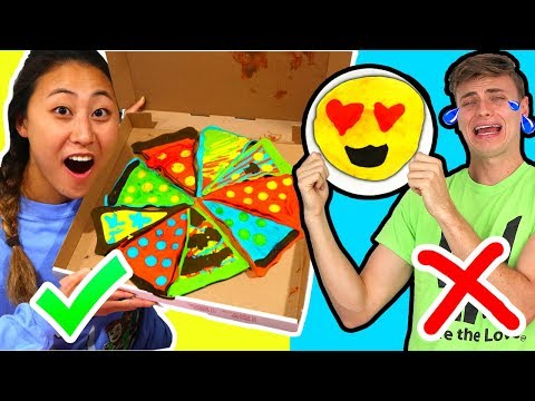 PANCAKE ART CHALLENGE WITH MY BOYFRIEND!! (CARTER SHARER)