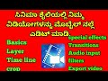 How to edit video in your mobile in filmy style by power director in Kannada, part -1