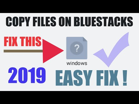 How to fix windows folder in Bluestacks 4