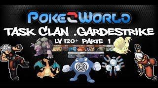 PokeZWorld Mostrando Task de Clan Gardestrike 120+ Parti#1
