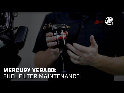 Mercury Verado Maintenance: Fuel Filter