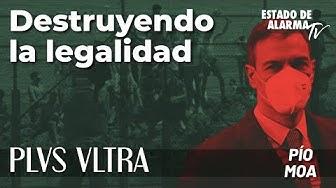 Image del Video: Plus Ultra con Pío Moa; Destruyendo la legalidad