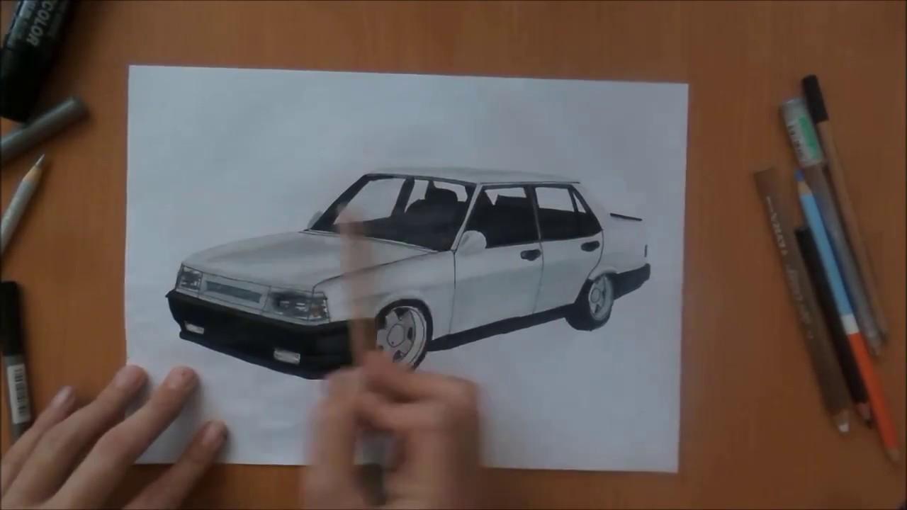 Tofaş şahin çizimi 06082017 Youtube