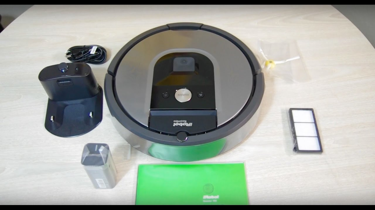 מבריק iRobot Roomba 960 Unboxing and Review with Slowmo - YouTube HT-21