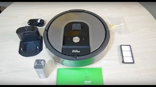 iRobot Roomba 960 Unboxing and Review with Slowmo