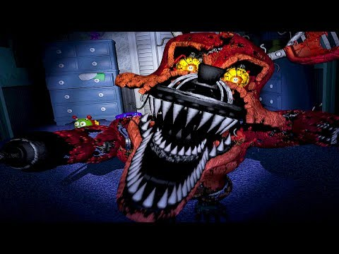 FOXY НИ ЗАХАПА ? - Five Nights at Freddy's 4 thumbnail
