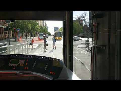 Adelaide Tram: Botanic Garden to Adelaide Railway Station