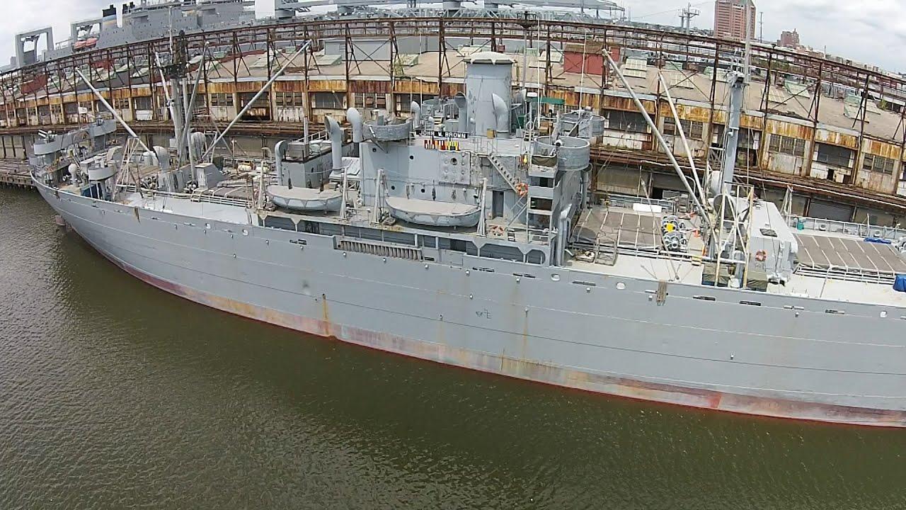 Liberty Ship Ss John Brown Baltimore Maryland Youtube