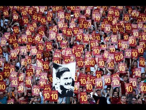 AS Roma - Francesco Totti's final farewell to the fans