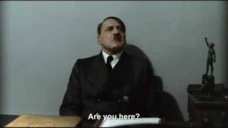 """Hitler is asked """"Are you here?"""""""