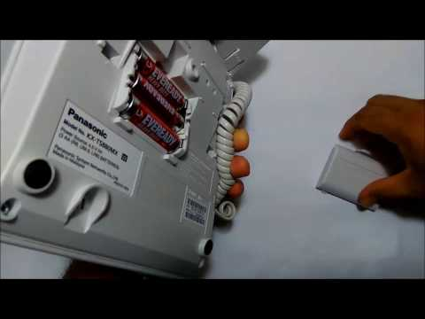 Set Clock Panasonic corded phone KX-TS880MX
