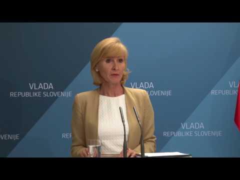 Izjava generalne sekretarke vlade Lilijane Kozlovič po 143. redni seji vlade
