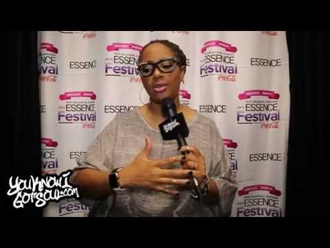 Lalah Hathaway Interview - Live Album, Inspiration from Father, Vocal Abilities