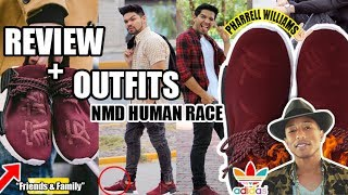 "OUTFITS + REVIEW ADIDAS NMD HUMAN RACE ""F&F"" - PHARRELL WILLIAMS"