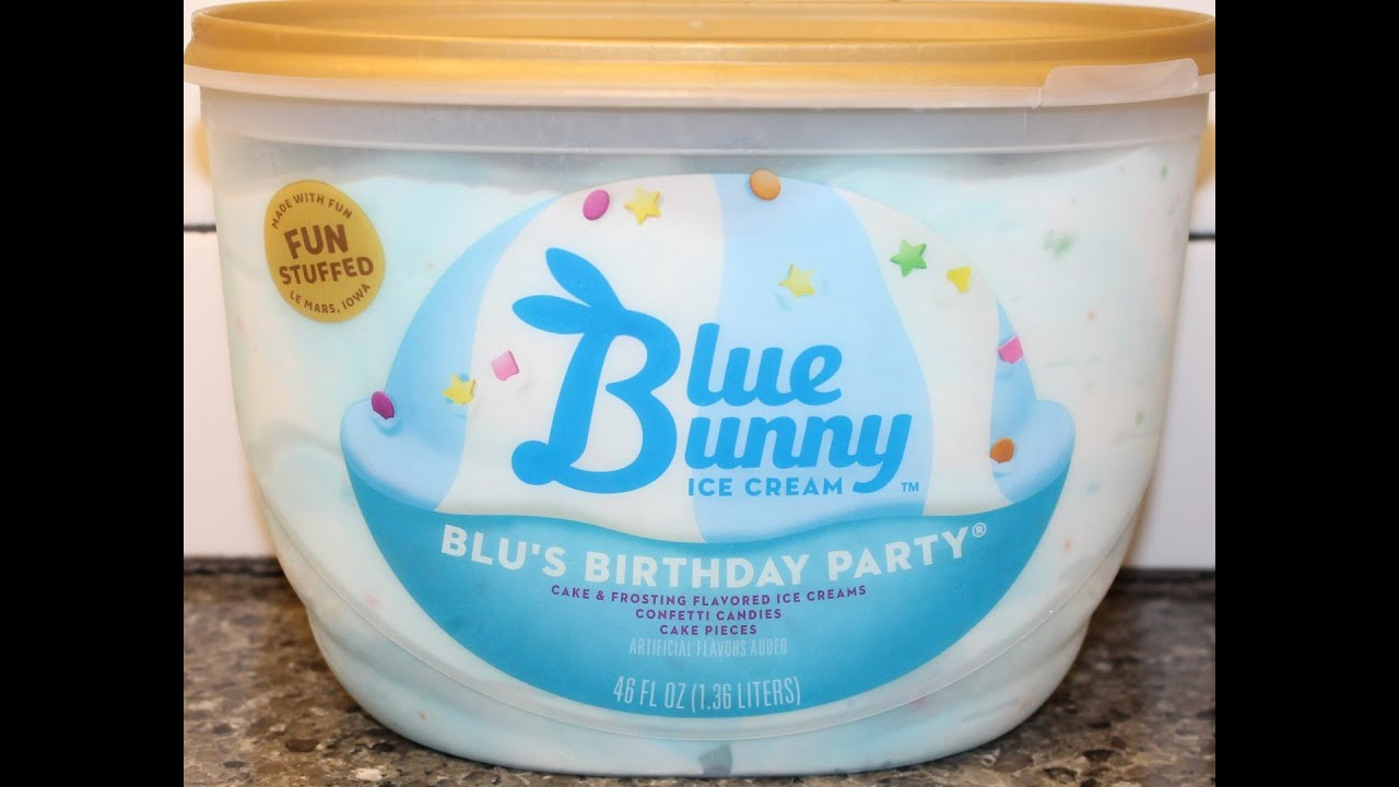 Blue Bunny Ice Cream Blus Birthday Party Review Youtube