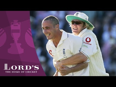 Hoggard & Jones on the Fourth Test at Trent Bridge - 2005 Ashes Rewind