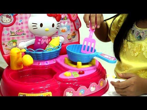 Mainan Anak Masak Masakan Hello Kitty 💖...