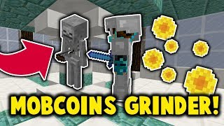 COME GRIND MOBCOINS AT MY ISLAND! *PUBLIC GRINDER* (Minecraft Skyblock The Archon Genesis Episode 2)