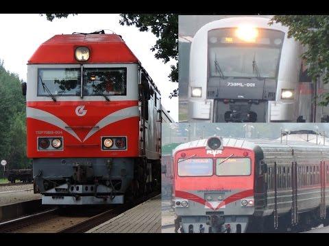 Big Train Spotting in Lithuania (Klaipeda)
