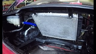 part 1/3 - E36 V8 344i DRIFT PROJECT SouthWays - chladič do kufru - radiator in the back DIY