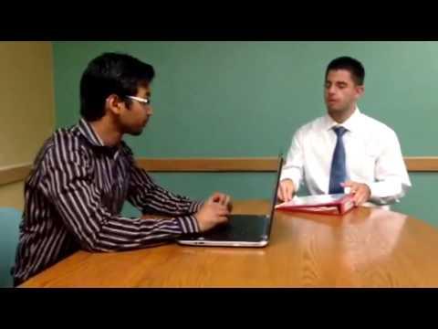 Sample of Good vs Bad Interview