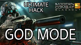 [GOD MOD]MODERN COMBAT 5 GOD MODE|NO ONE WILL HARM YOU|ULTIMATE HACK|WITH PROOF|GAMEPLAY