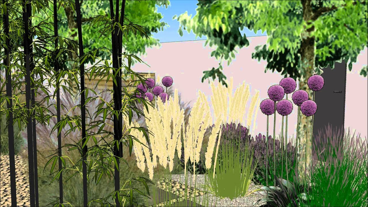 Hausgarten in 3D Garten Design Blog