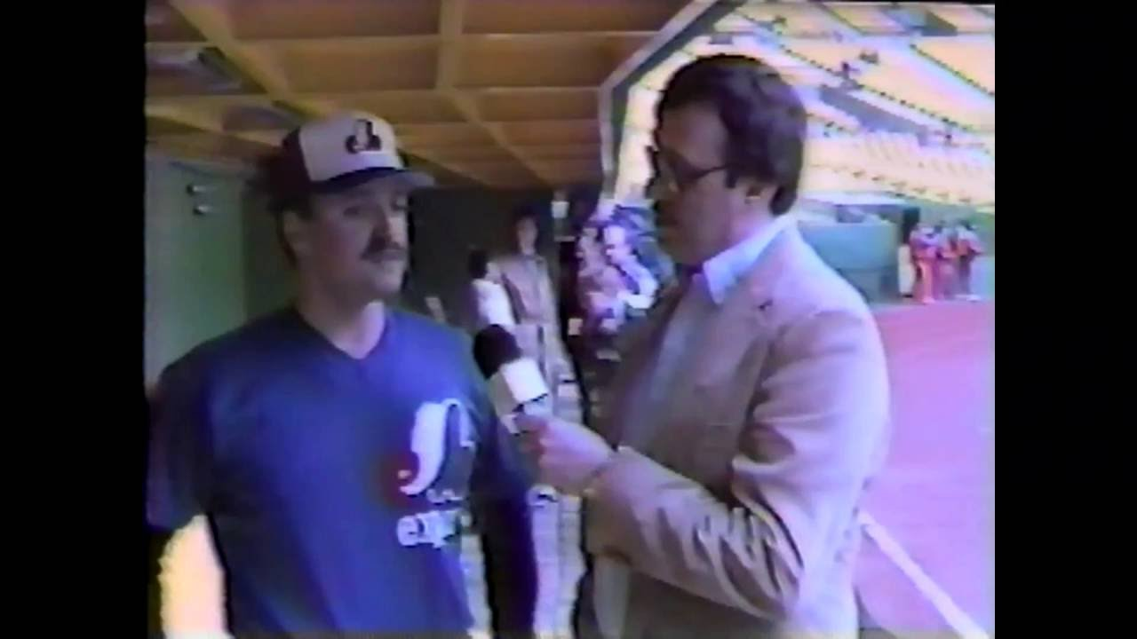 Expos Batting Practice Pitcher Tony Morulla - 1985