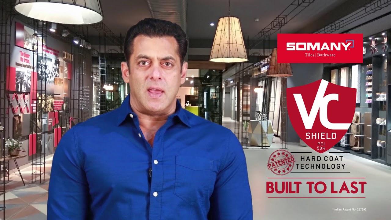 Somany VC Shield | Built to Last - Salman Speaks