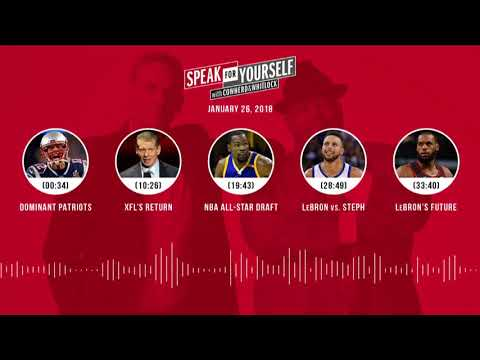 SPEAK FOR YOURSELF Audio Podcast (1.26.18) with Colin Cowherd, Jason Whitlock | SPEAK FOR YOURSELF