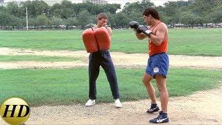 Тренировки братьев Курта и Эрика. Кикбоксер (1989)