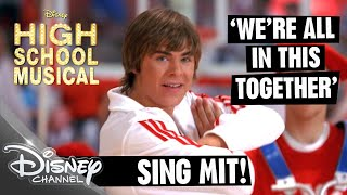 HIGH SCHOOL MUSICAL Sing mit! 🎵 We're All In This Together 🎵 | Disney Channel Songs