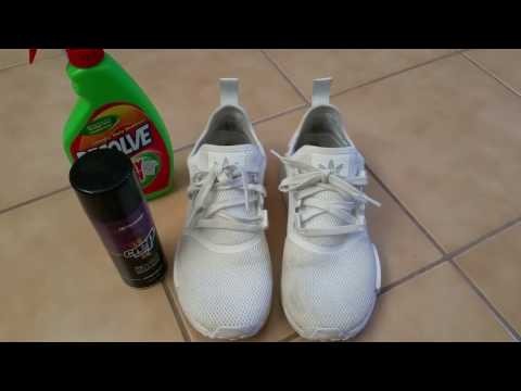 How To Clean Adidas Triple White NMD R1 XR1 Kanye West Ultra Boost YEEZY Full HD 2016